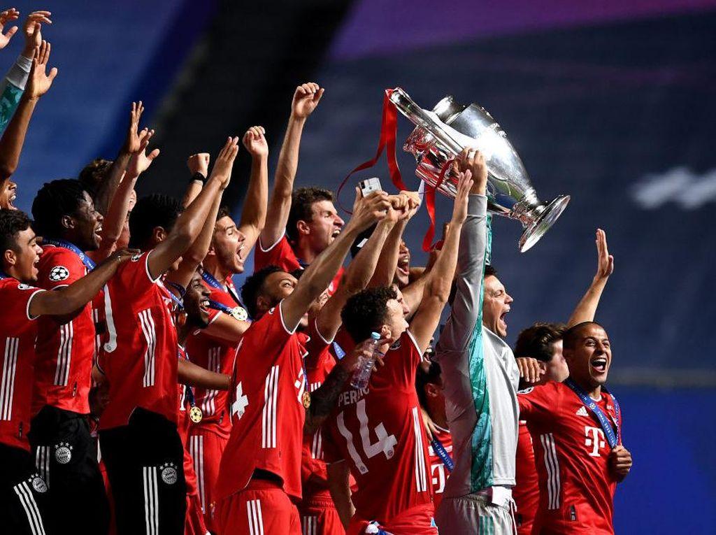 PSG Main Cepat, Bayern Munich Sang Juara Main Tenang
