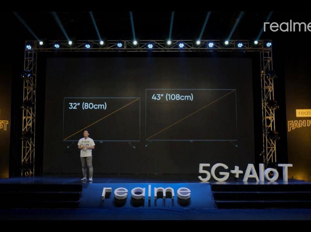 Realme Smart TV Resmi Hadir di Indonesia, Harganya?