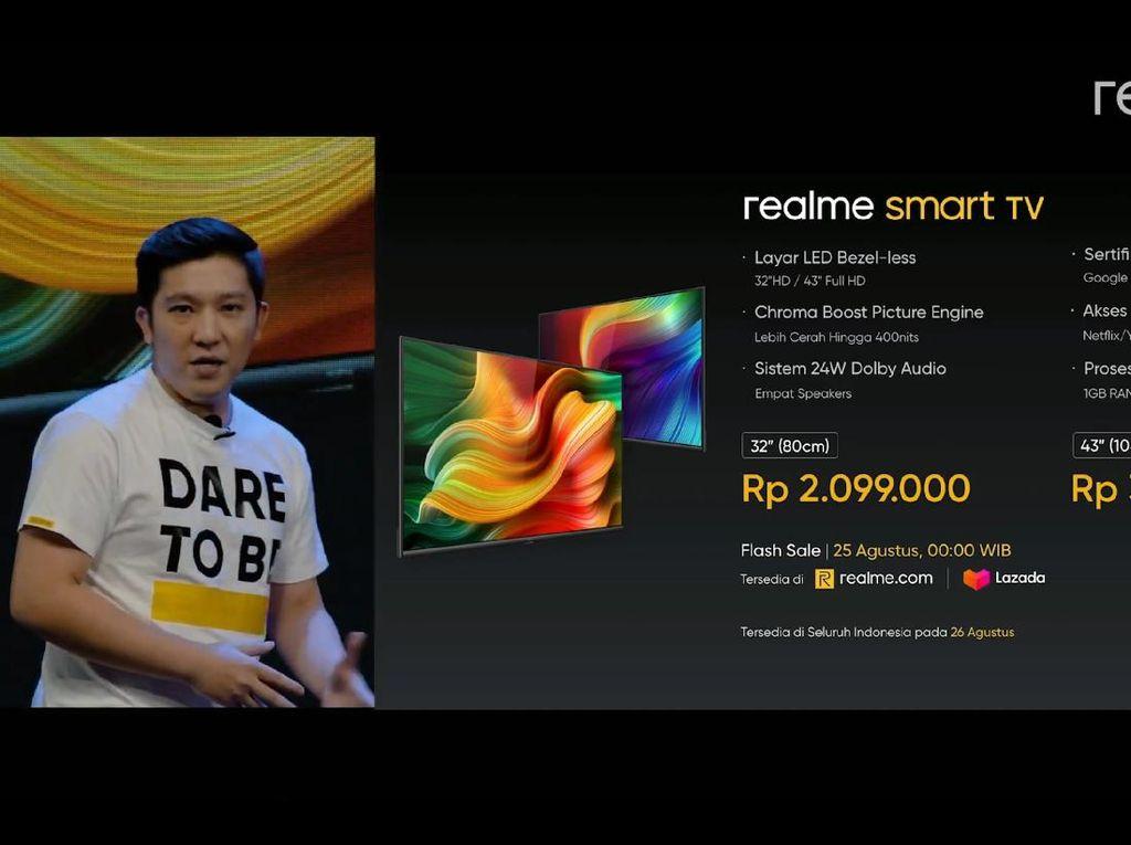 Realme Boyong Smart TV, Bisa Ngapain Aja?
