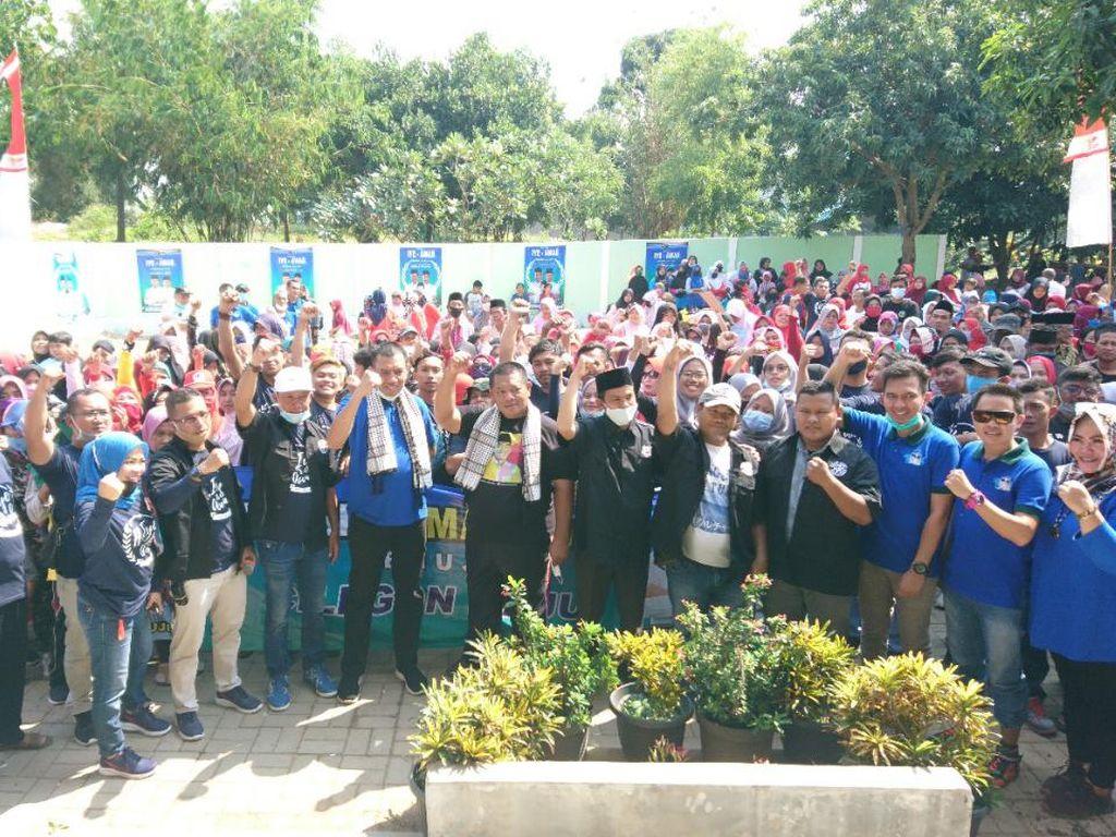 Ikuti Wakil Ketua DPD Golkar Cilegon, Relawan Ratu Ati Pindah Dukung Iye