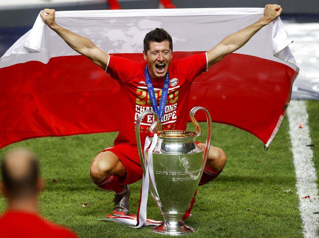 Lewandowski Tujuh Tahun Lalu Jadi Pecundang, Kini Pemenang