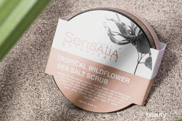 salah satu body scrub lokal terbaik yaitu dari Sensatia Botanicals