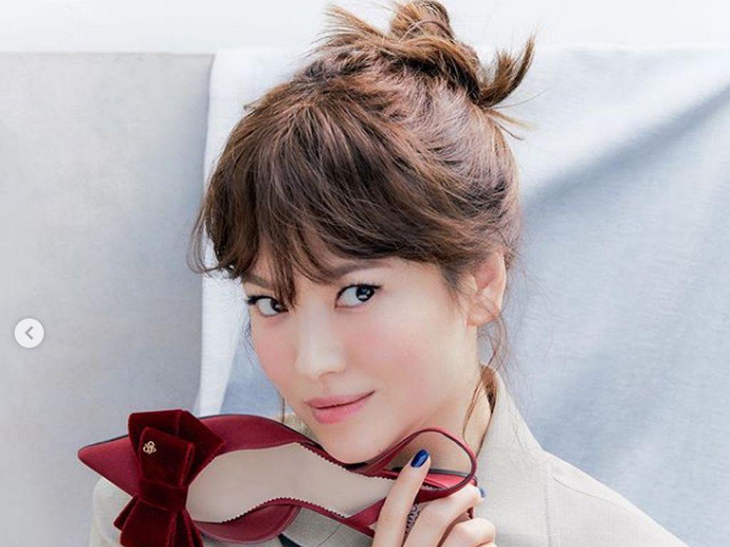 5 Potret Terkini Song Hye Kyo, Cantik dan Imut bak Remaja