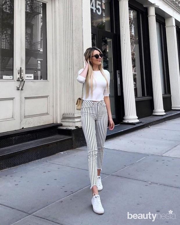Tips memilih celana yang memberikan ilusi kaki lebih jenjang