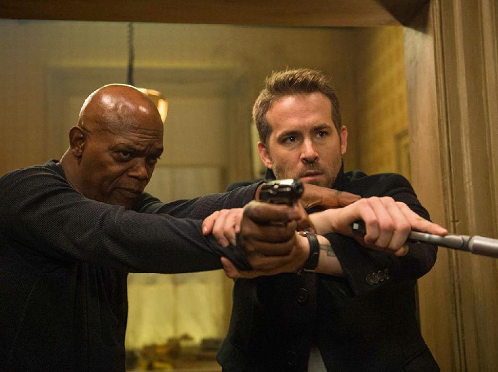 Sinopsis The Hitmans Bodyguard, Aksi Kocak Ryan Reynolds dan Samuel L Jackson