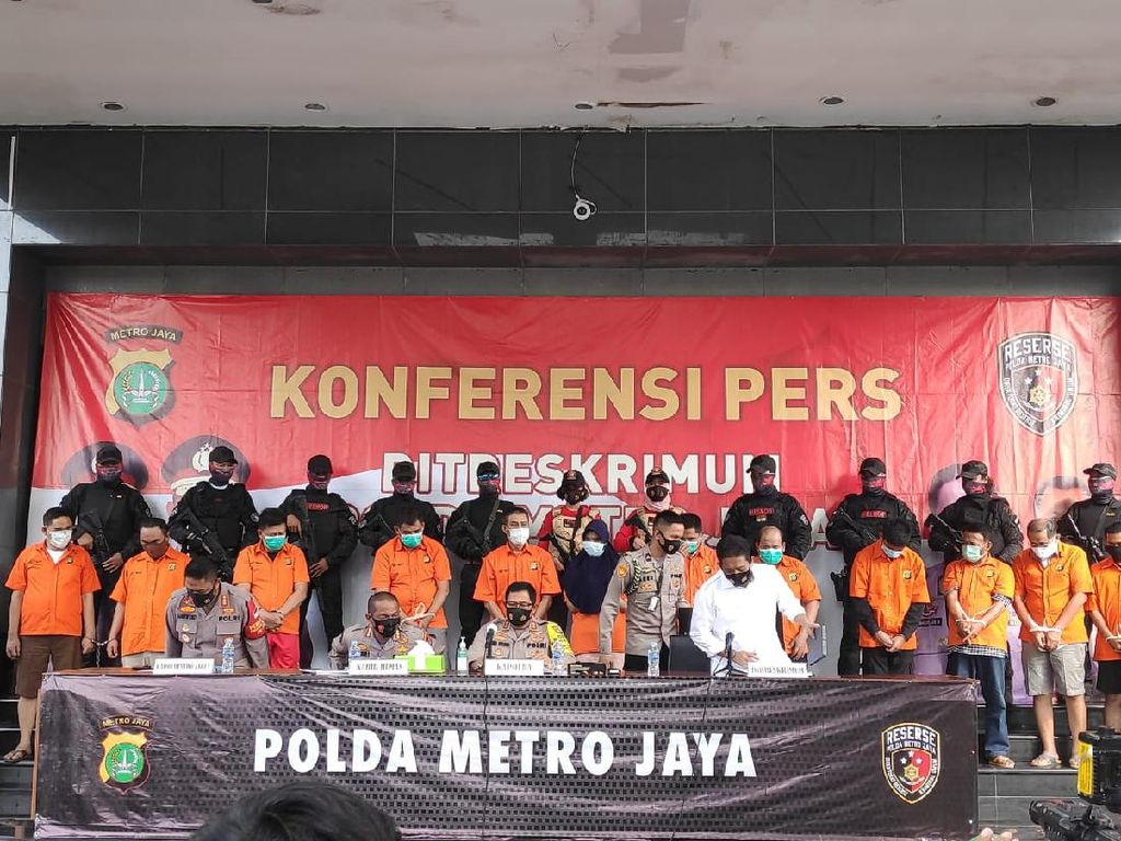 Total 12 Pelaku Ditangkap Terkait Penembakan Maut di Kelapa Gading