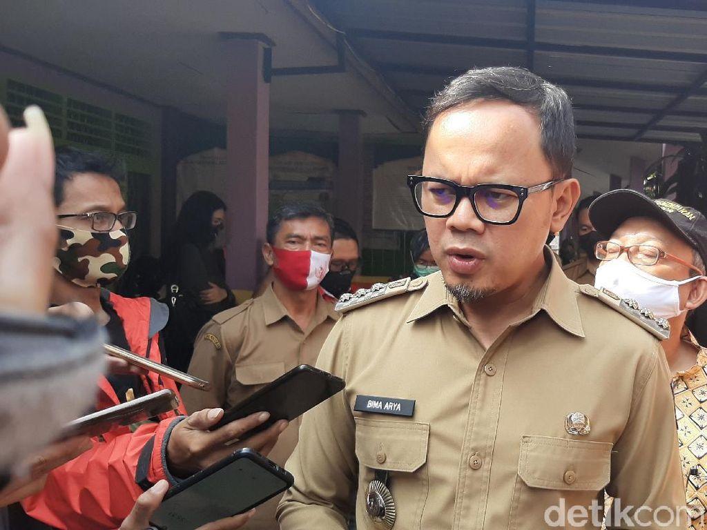 Bima Arya: Klaster Keluarga Peringkat Utama di Kota Bogor, Kasus Positif 170
