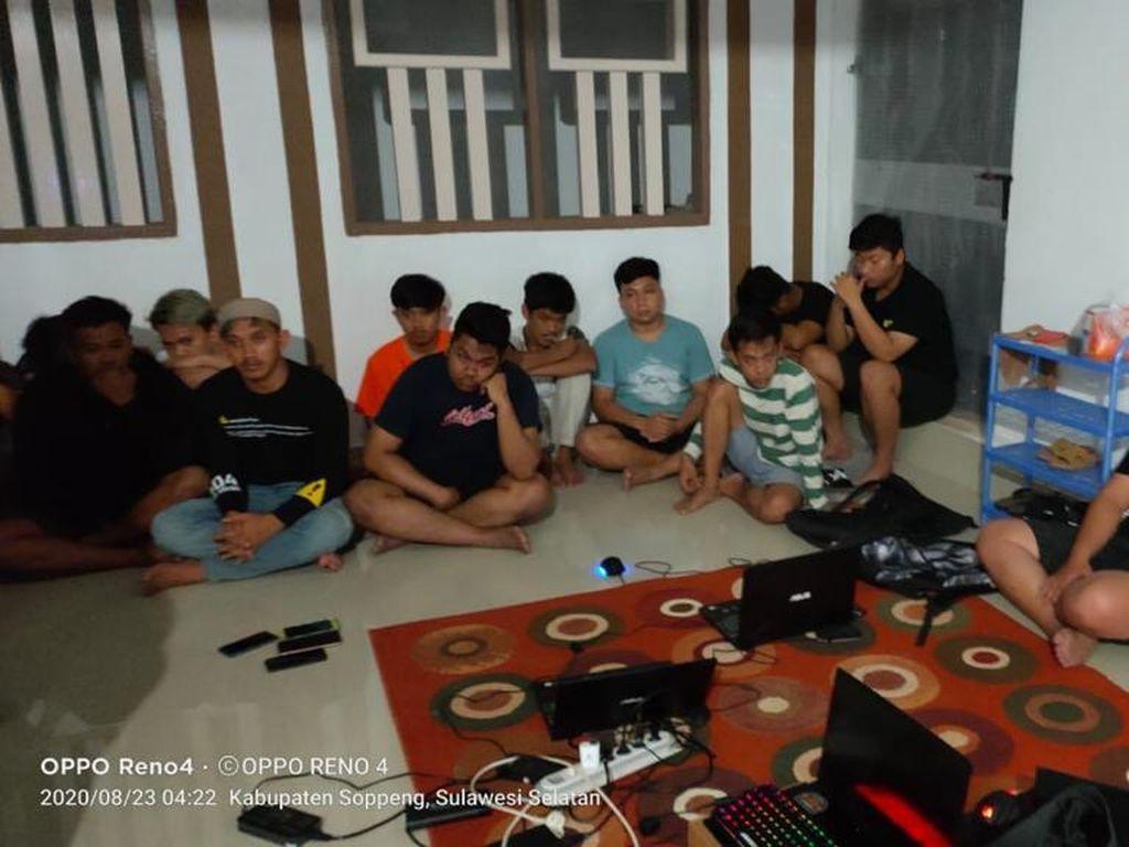 Selain Kartu Kredit, Situs Tiket Pesawat Juga Dibobol 19 Pemuda di Sulsel