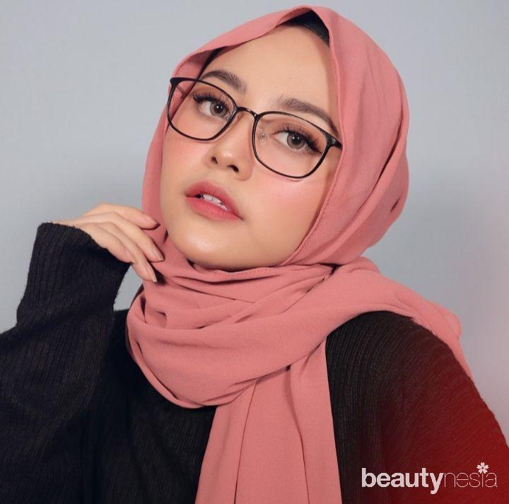 5 Model Hijab untuk Wajah Bulat agar Terlihat Tirus/Model Hijab Kekinian/instagram.com/nadhilaqnta/