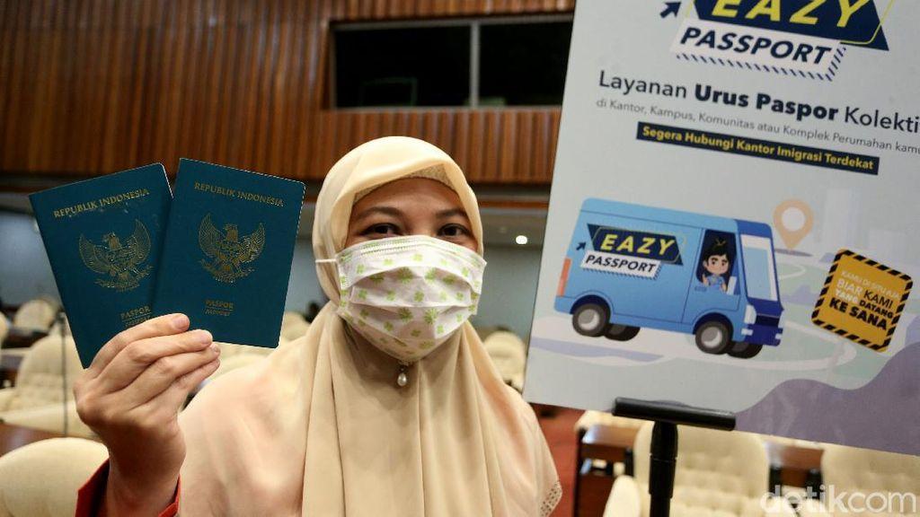 Ada Layanan Pembuatan Paspor Khusus Anggota DPR Lho