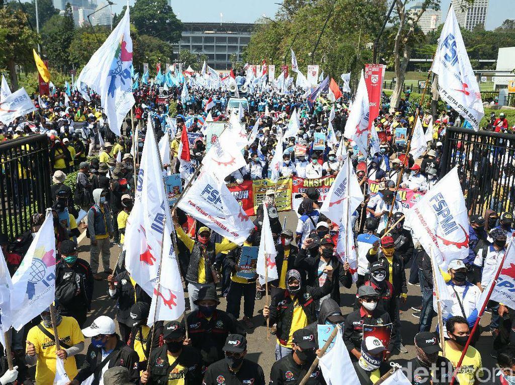 Antisipasi Demo Buruh, Ini Rekayasa Lalu Lintas yang Disiapkan