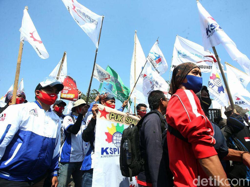 Tolak RUU Ciptaker, Buruh Bakal Demo DPR 8 Oktober