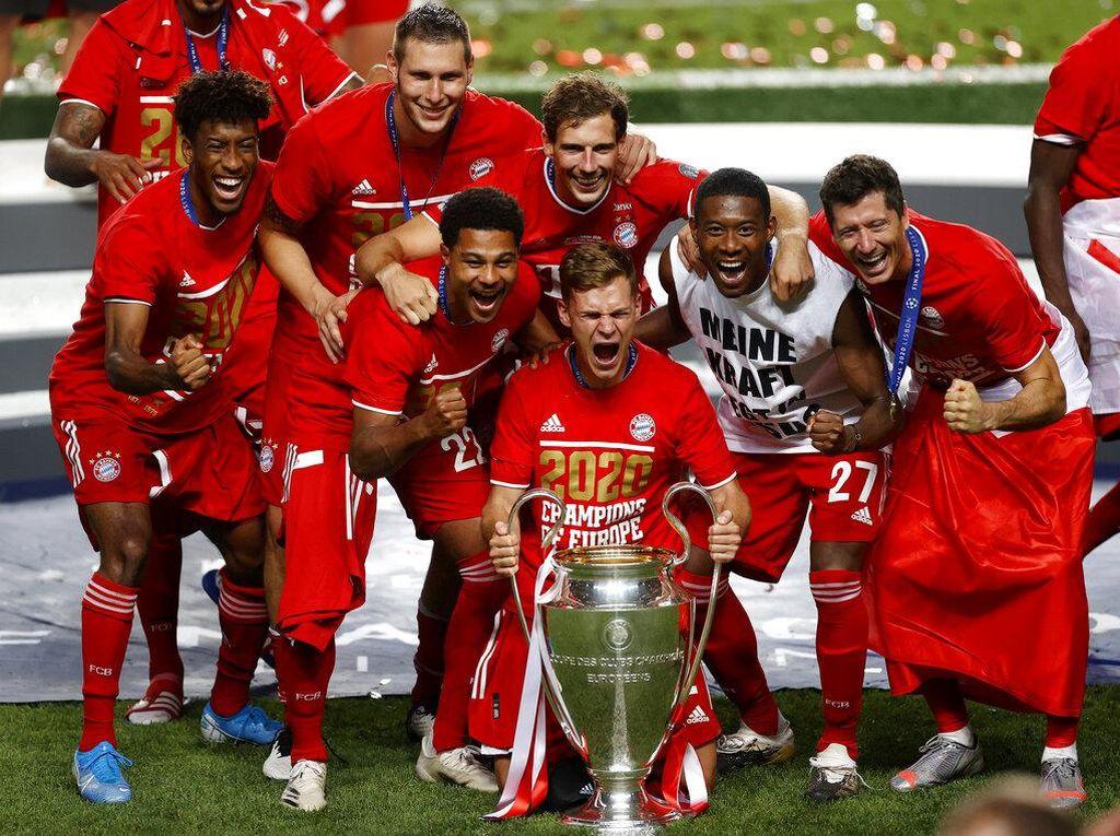 Bayern Munich Juara Liga Champions dalam Angka