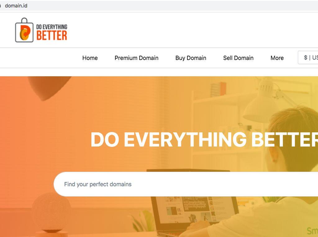 Pandi Hadirkan Domain.id, Marketplace Jual-Beli Domain Cantik