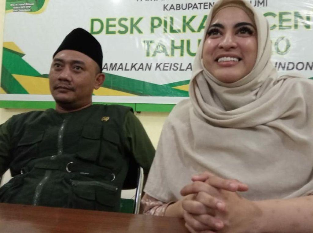 Dites Baca Alquran dan Hadist, Jane Shalimar Resmi Jadi Kader PPP Sukabumi