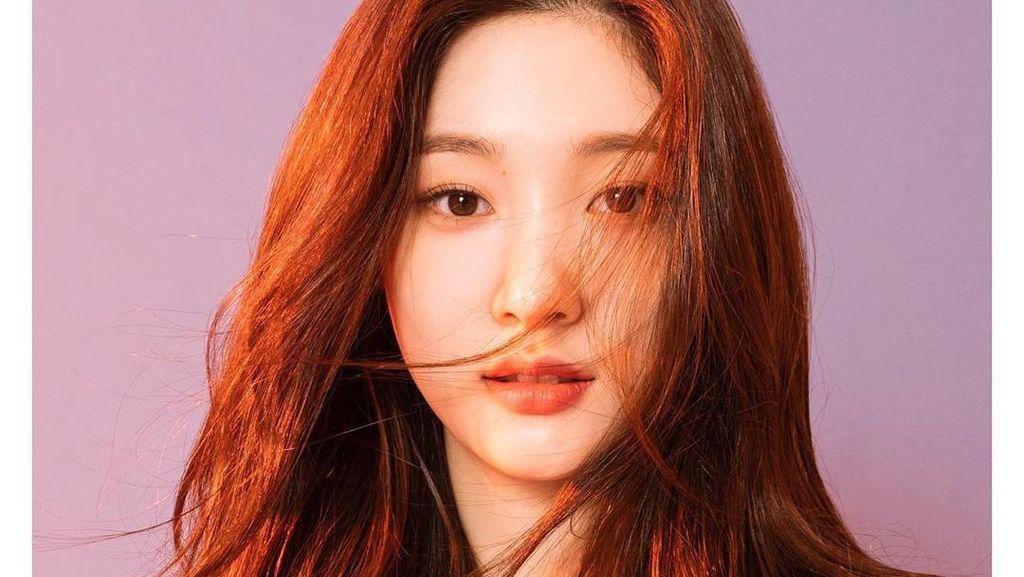 Pesona Chaeyeon yang Hidung Cantiknya Sering Jadi Referensi untuk Oplas