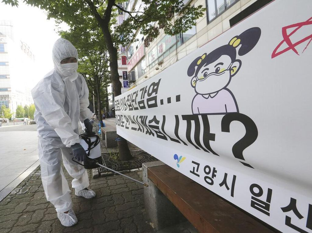 WNI Kabur dari Fasilitas Karantina Corona di Korea Selatan