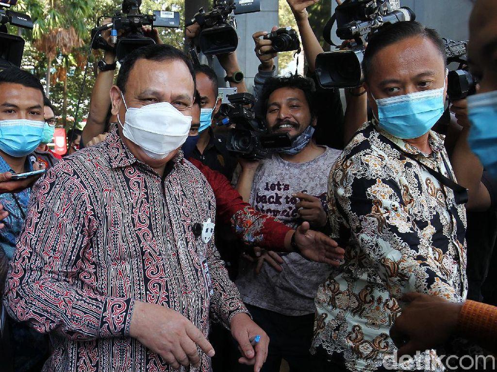 Gedung KPK Tutup Imbas Corona, Sidang Etik Firli soal Heli Diundur Jumat
