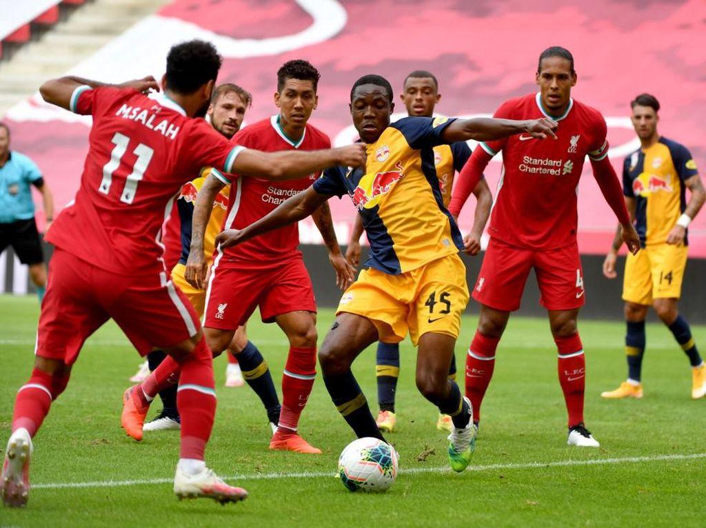 Laga Uji Coba: Liverpool Ditahan Imbang RB Salzburg 2-2