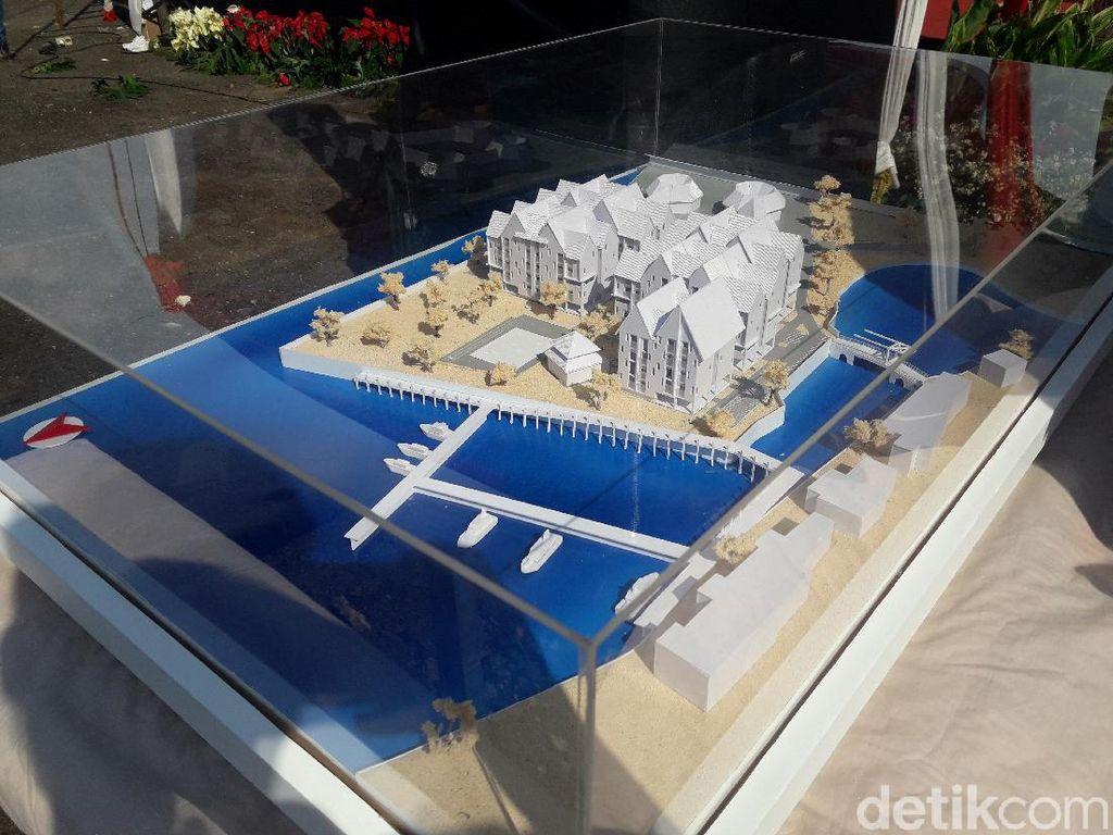Desain Kampung Susun Akuarium: Lantai Dasar Kosong Agar Tak Kebanjiran