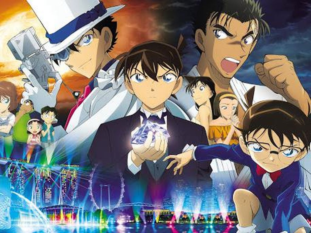 Manga Detective Conan Terbaru Rilis 25 September, Ceritanya Ada di Singapura