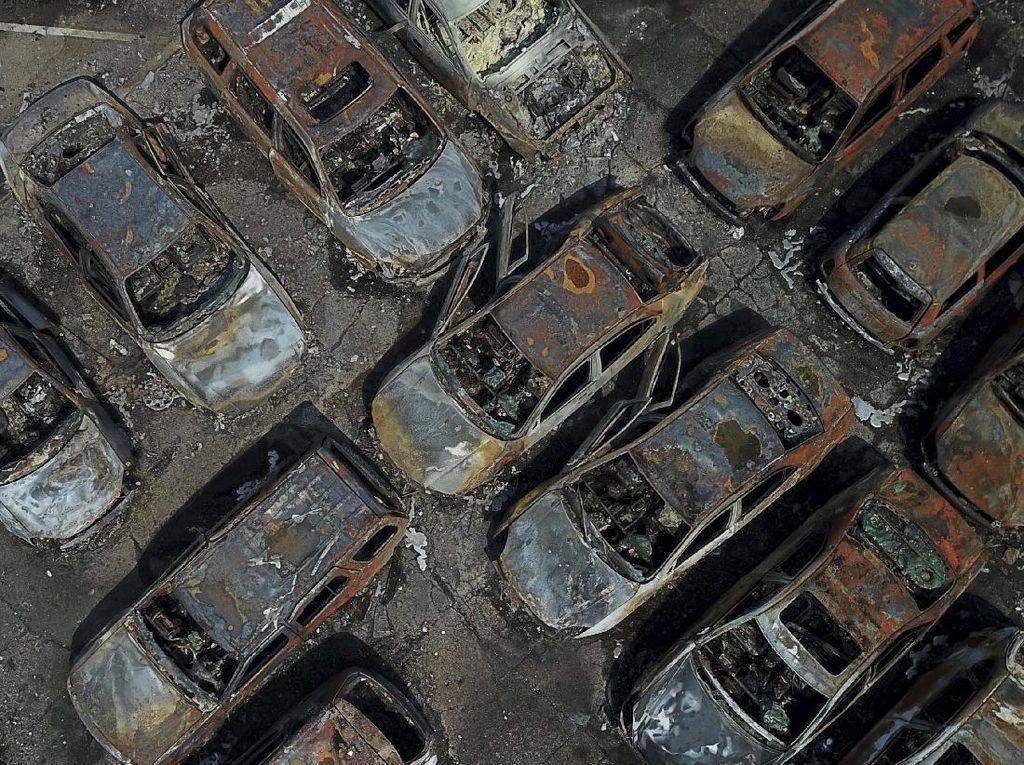 Mobil-mobil Ini Jadi Korban Demo Rusuh di AS