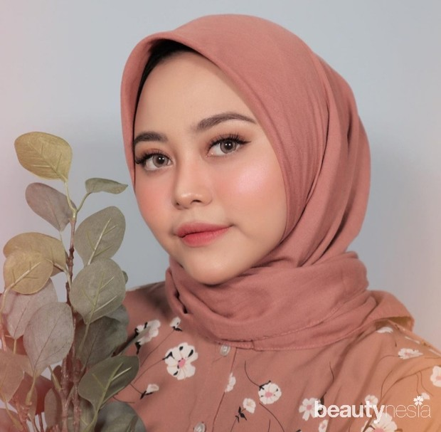 5 model hijab untuk wajah bulat
