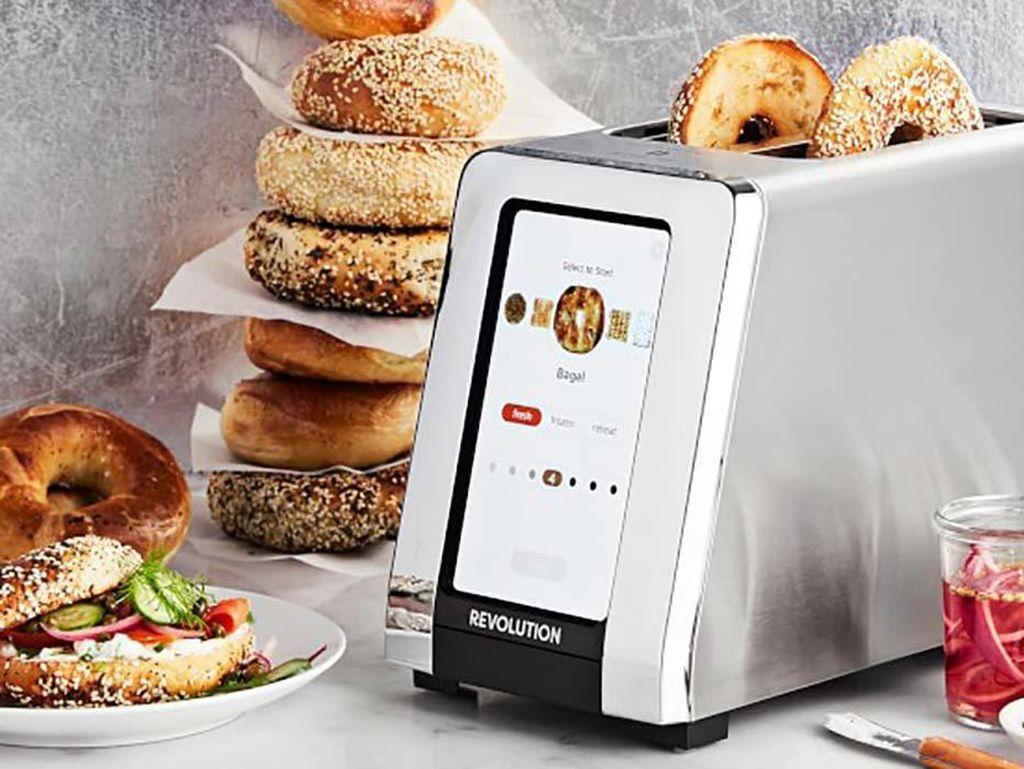 Alat Panggang Roti Canggih, Bisa Atur Tingkat Kematangan Roti
