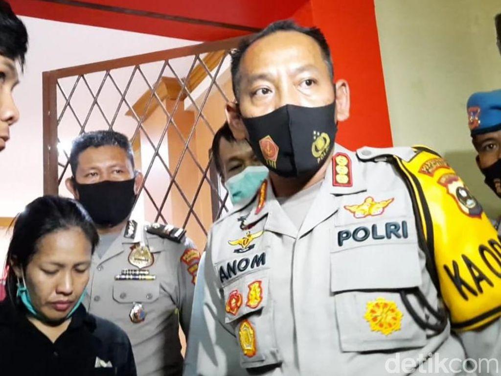 Selipkan Sabu ke Sel Tahanan untuk Suami, IRT di Palembang Ditangkap