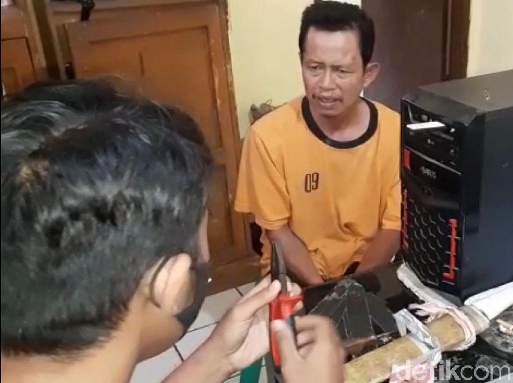 Video Pemuda di Sukabumi Gagalkan-Tangkap Pencuri Bergolok