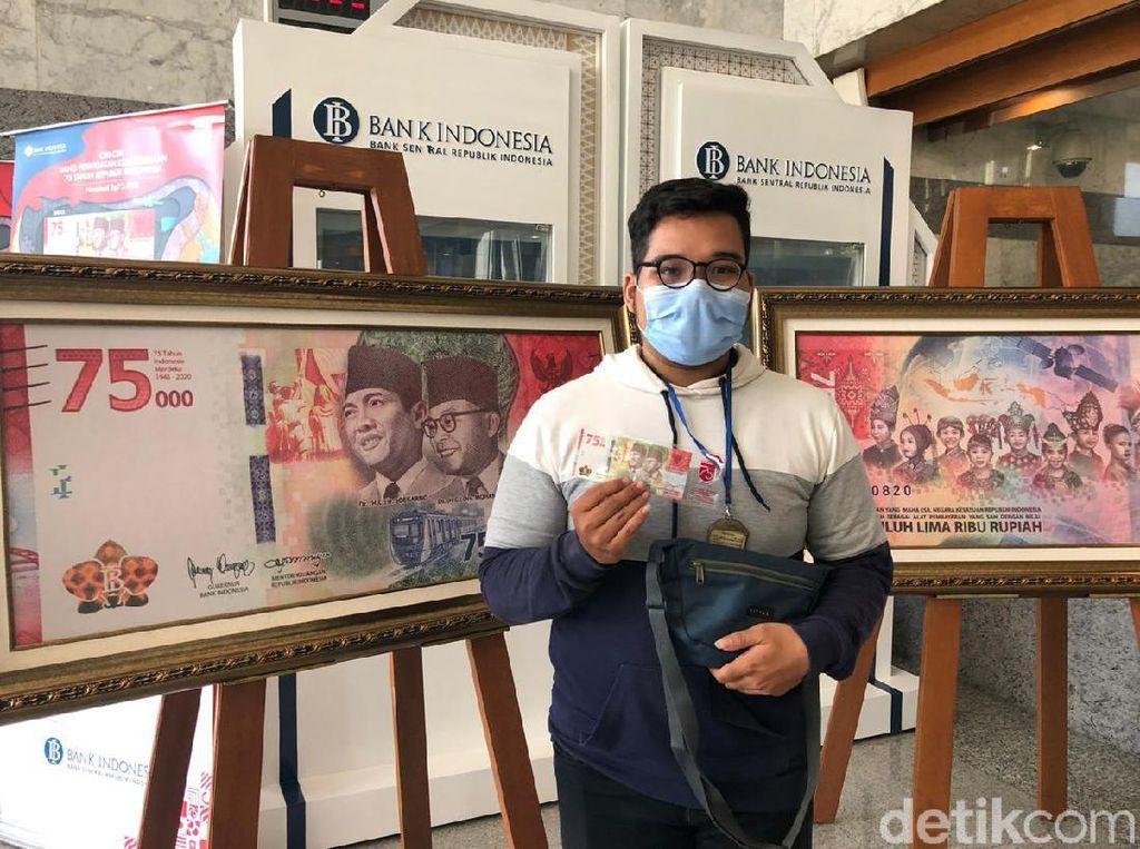 Jauh-jauh dari Bogor ke Jakarta Buat Tukar Uang Khusus Rp 75 Ribu