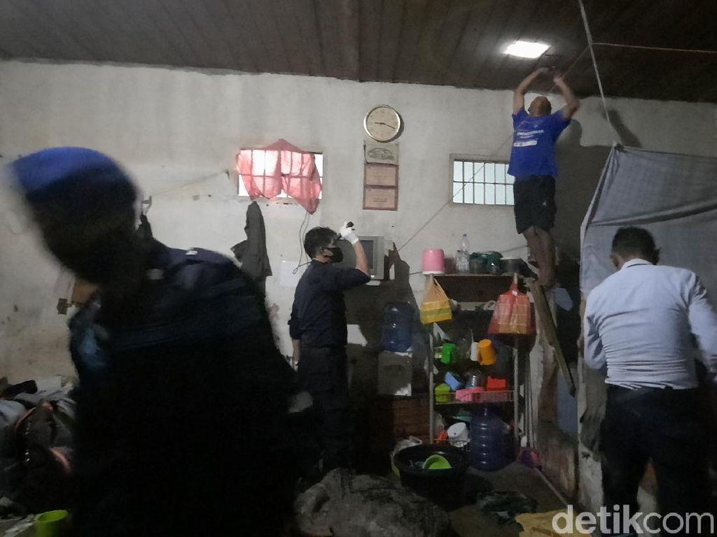 Razia Narkoba di Rutan Palu, Petugas Temukan Pisau hingga Gunting