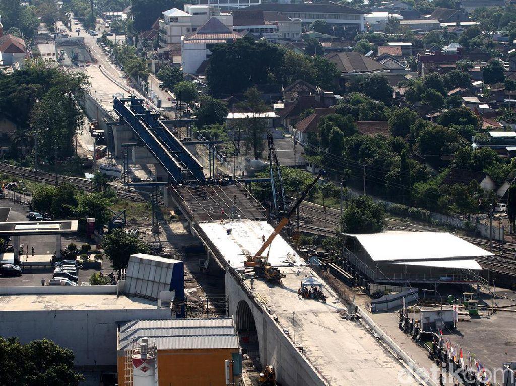 Proyek Jalan Layang Purwosari Bisa Difungsikan Akhir 2020