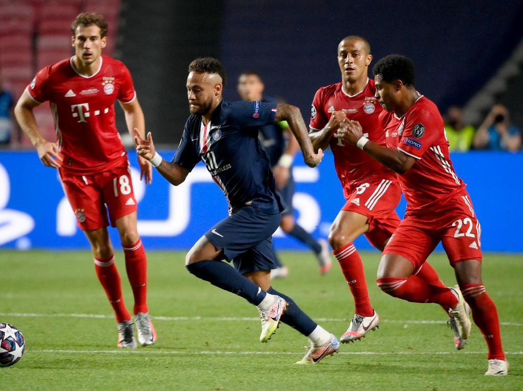 Ruud Gullit: Gnabry Tendang Neymar Momen Kunci Kemenangan Bayern