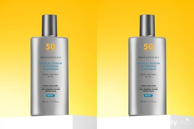 salah satu tinted sunscreen 2020 yang wajib coba adalah SkinCeuticals Physical Fusion UV Defense SPF 50