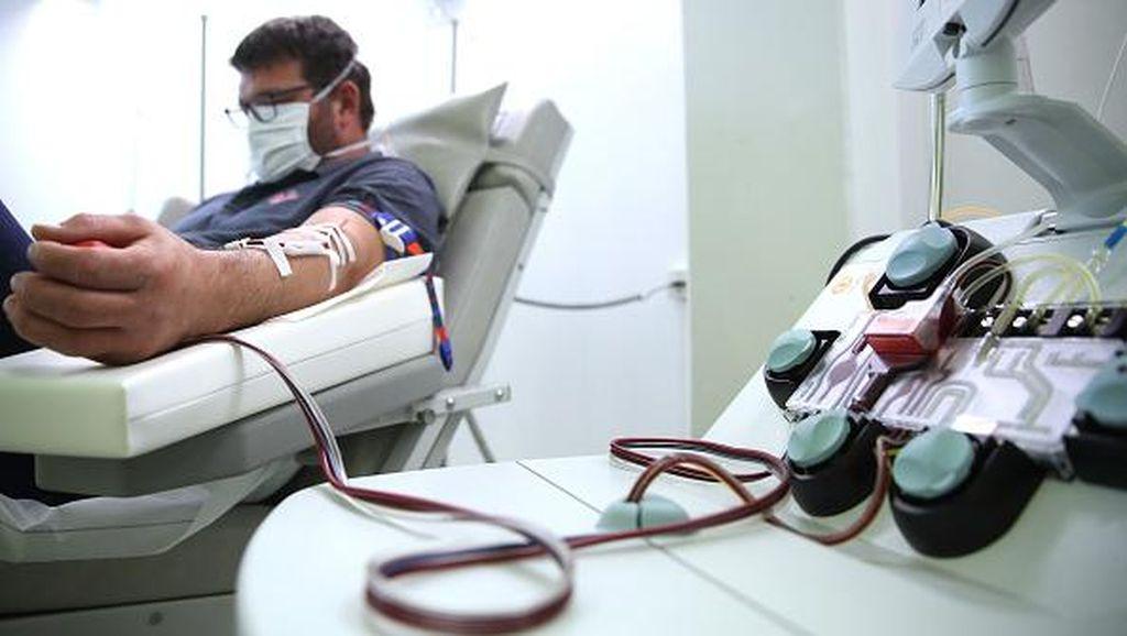 AS Setujui Terapi Plasma untuk Pasien Corona