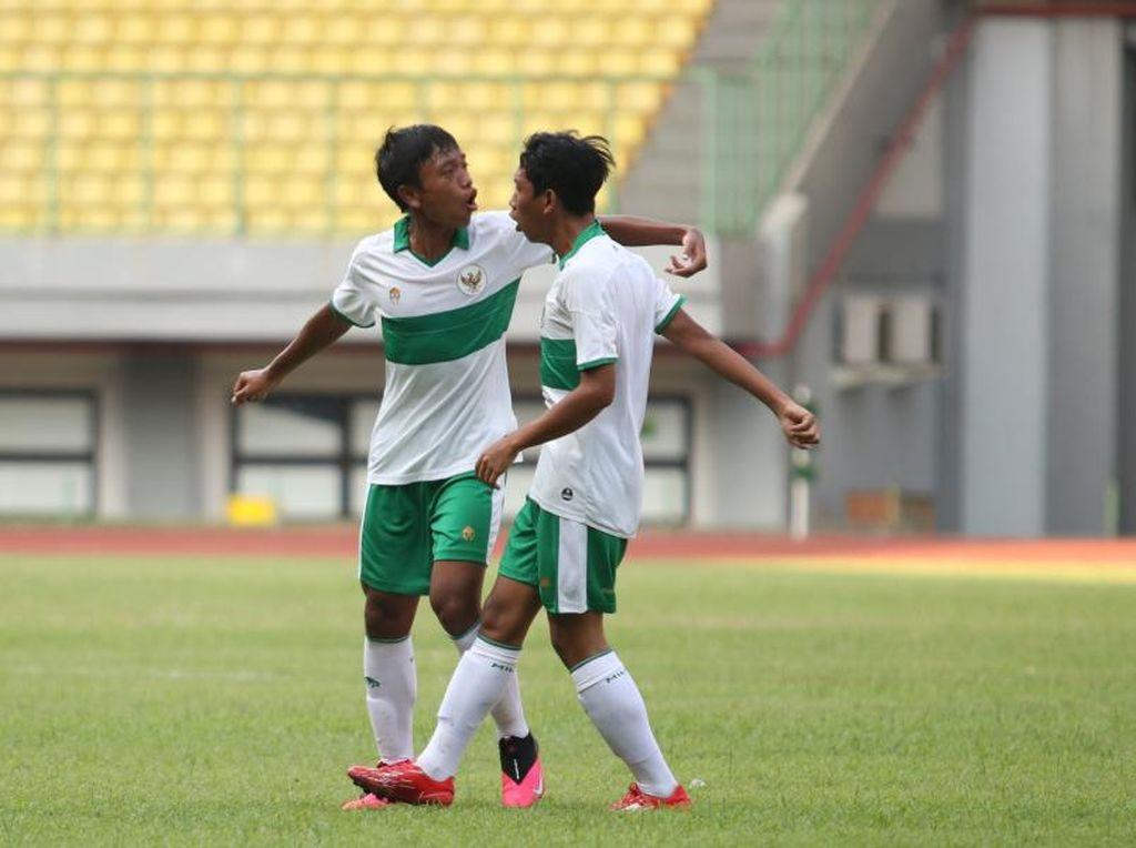 Persiapan Piala Asia U-16, Timnas Indonesia U-16 Raih Kemenangan Kedua