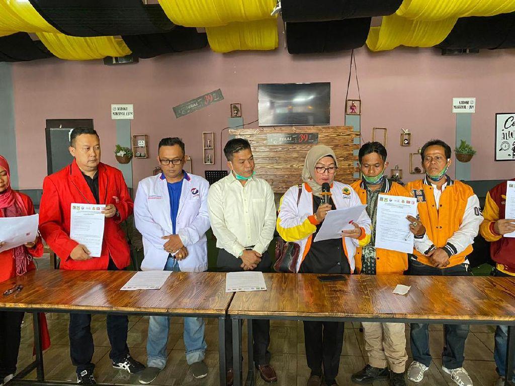 Tujuh Partai Non Parlemen Dukung DS-Sahrul Gunawan di Pilbup Bandung