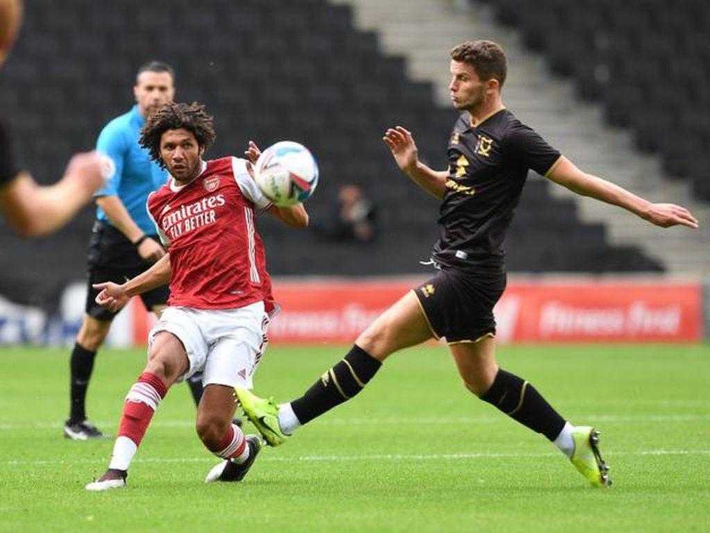 Arsenal Kandaskan MK Dons 4-1 di Laga Uji Coba