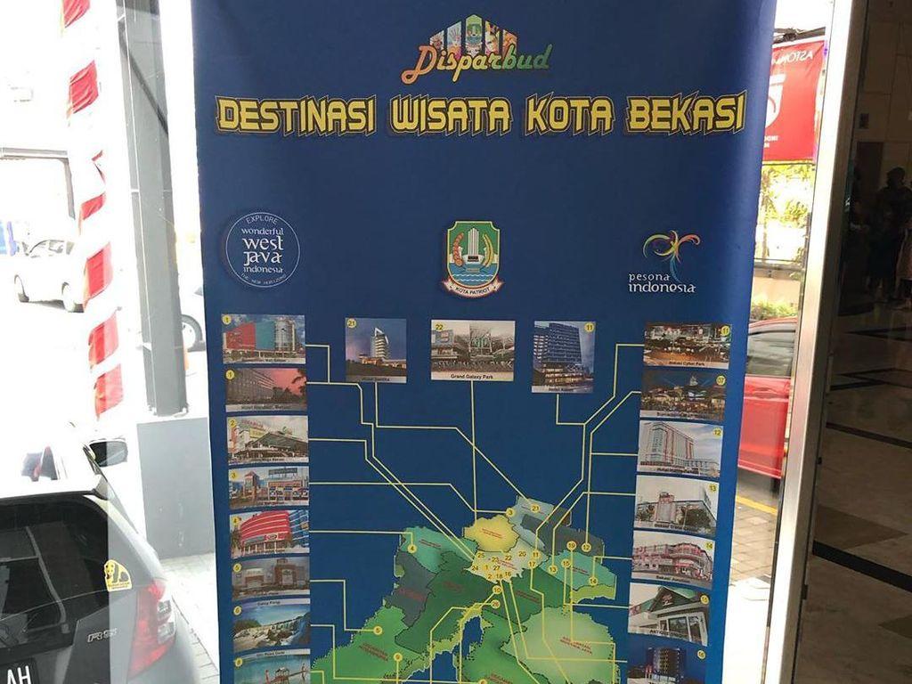 Warganet Soroti Poster Wisata Bekasi yang Sarat Mal dan Hotel