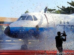 Video Penampakan Pesawat N250 Gatotkaca yang Kini Resmi Huni Museum