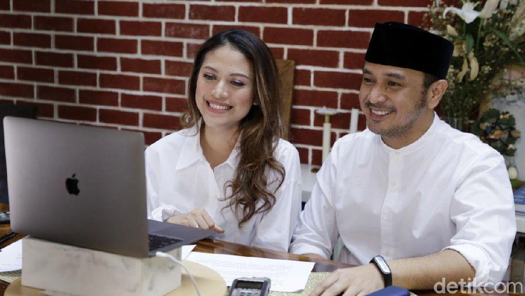 Mau Nyapres Dicibir Netizen, Giring dan Istri Beri Jawaban Ini