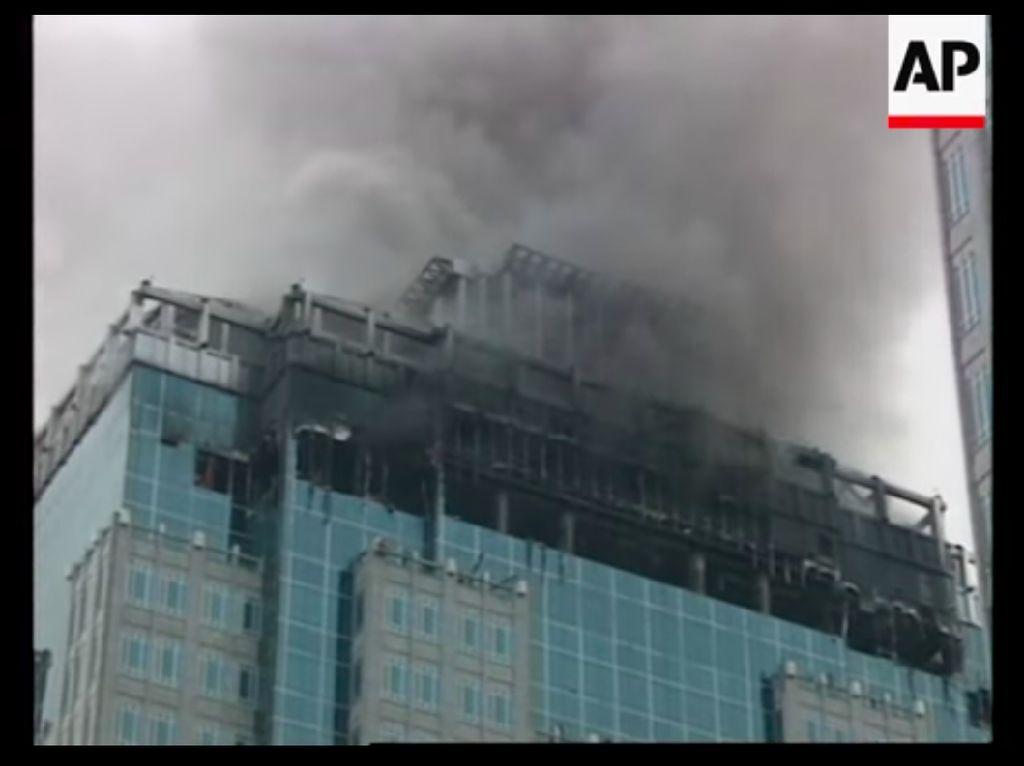 Kebakaran BI yang Diungkit Amien Rais: 15 Orang Terpanggang di Lift