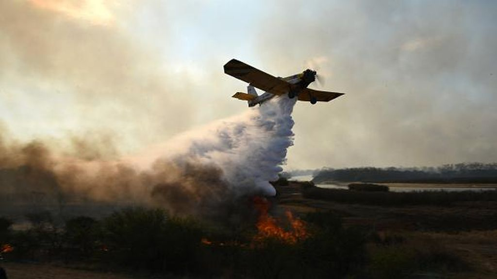 Kebakaran Kini Landa Lahan di Argentina