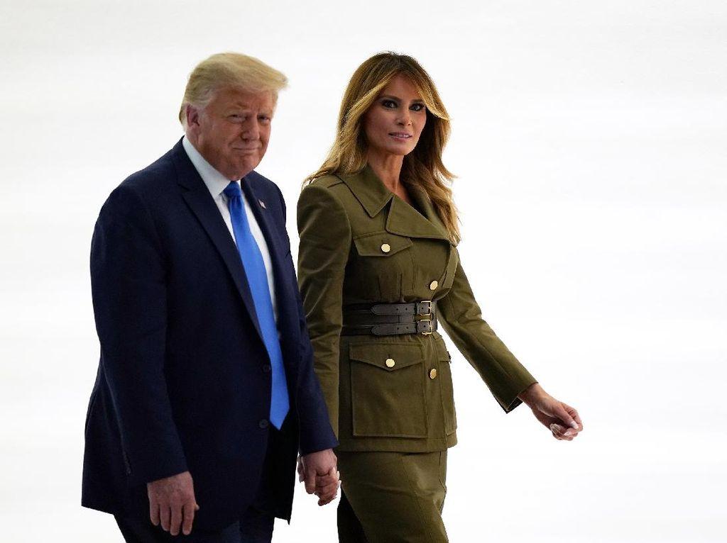 Melania Sebut Trump Fokus Kerja, Bukan Main-main Politik