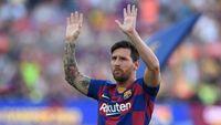 Tetap di Barcelona, Lionel Messi Posting Foto Anak-anaknya