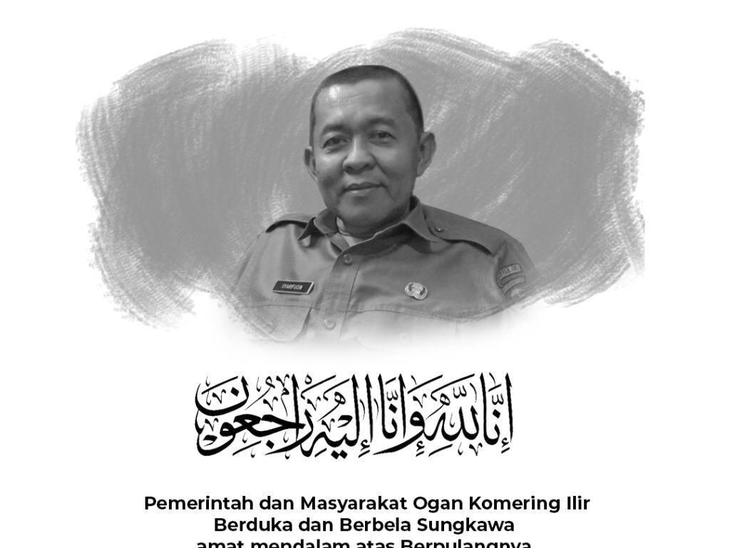 Pejabat OKI Pelapor Ketuanya ke Polisi Wafat, Projo Sumsel Berduka