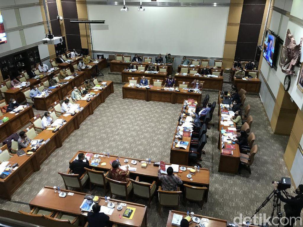 Sempat Berlangsung, Rapat Komisi III-Kejagung-Polri soal Anggaran Ditunda