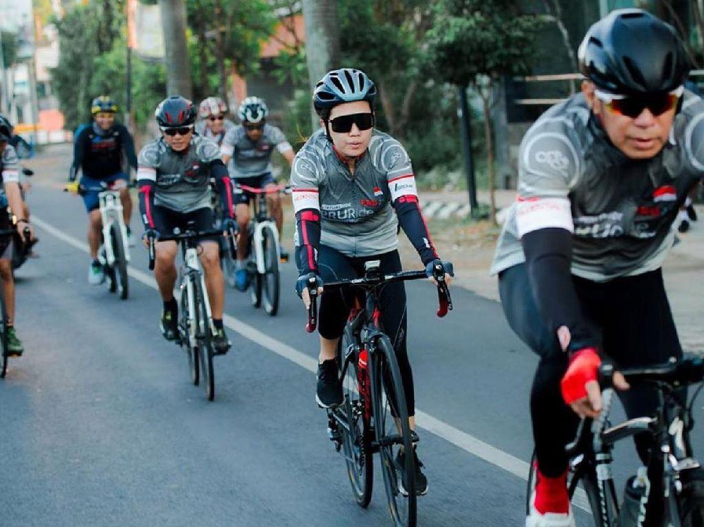 Ribuan Peserta Ikuti Balap Sepeda Virtual