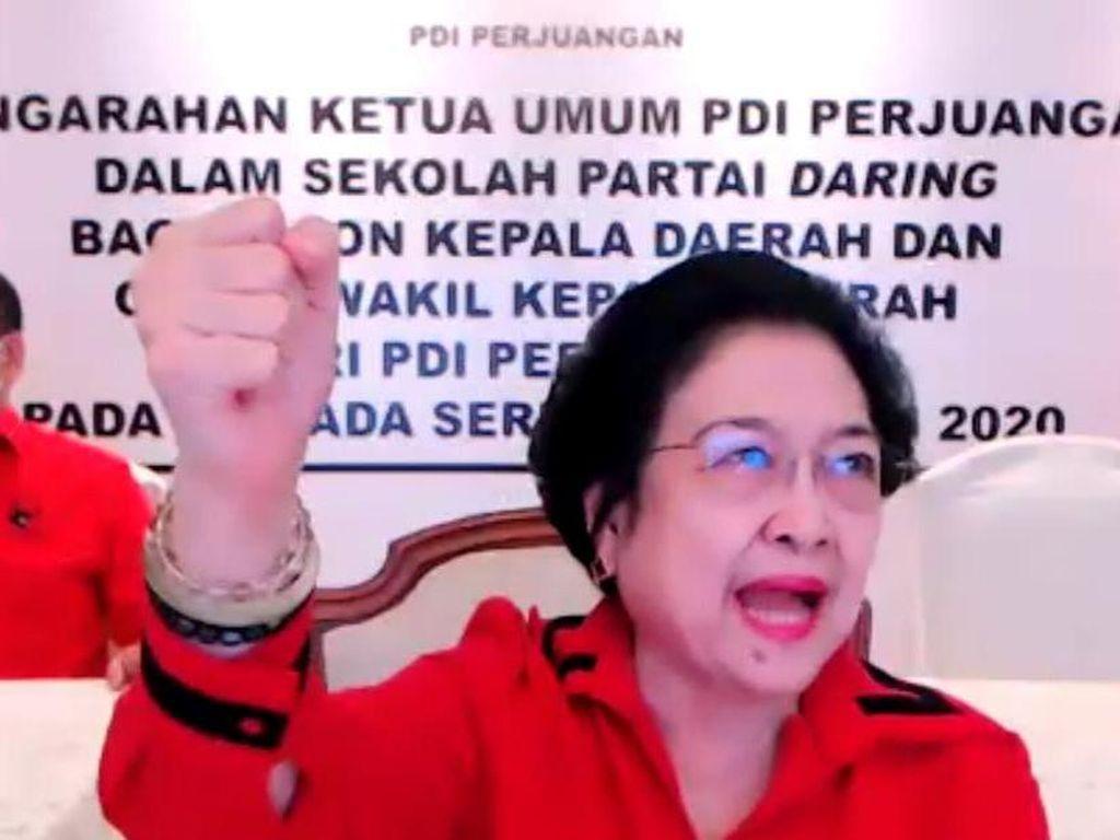 Video Gegara Pandemi Corona, Megawati Dilockdown Keluarga